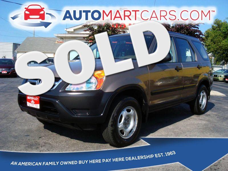 2004 Honda CR-V LX   Nashville, Tennessee   Auto Mart Used Cars Inc. in Nashville Tennessee