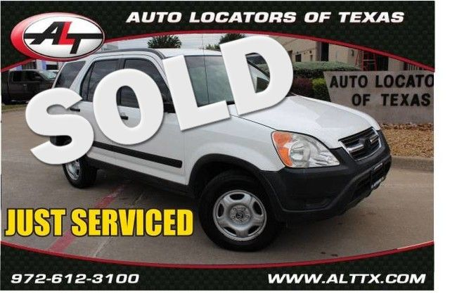 2004 Honda CR-V LX | Plano, TX | Consign My Vehicle in  TX