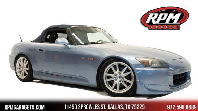 2004 Honda S2000 with Many Upgrades