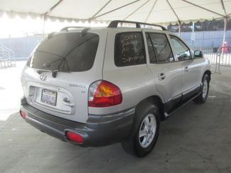 2004 Hyundai Santa Fe GLS Gardena, California 2