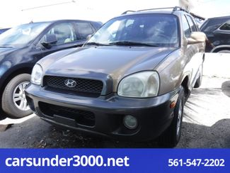 2004 Hyundai Santa Fe LX Lake Worth , Florida