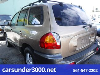 2004 Hyundai Santa Fe LX Lake Worth , Florida 3