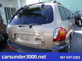 2004 Hyundai Santa Fe LX Lake Worth , Florida 1