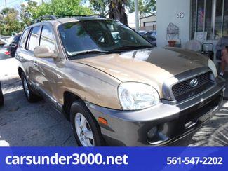 2004 Hyundai Santa Fe LX Lake Worth , Florida 2