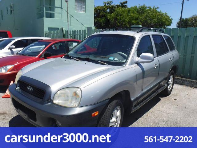 2004 Hyundai Santa Fe GLS Lake Worth , Florida