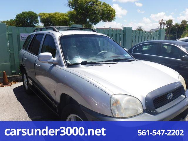 2004 Hyundai Santa Fe GLS Lake Worth , Florida 1