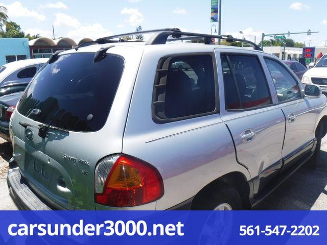 2004 Hyundai Santa Fe GLS Lake Worth , Florida 2