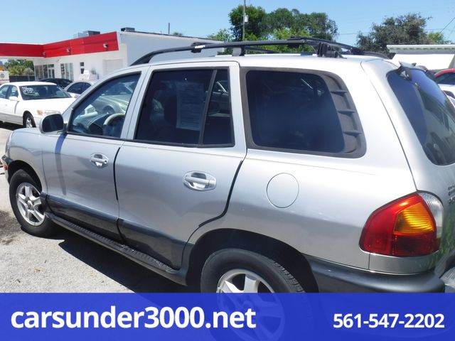 2004 Hyundai Santa Fe GLS Lake Worth , Florida 3