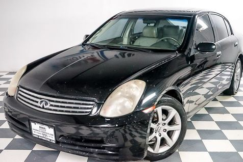 2004 Infiniti G35 w/Leather in Dallas, TX