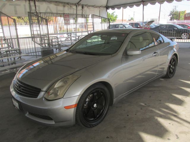 2004 Infiniti G35 w/Leather Gardena, California