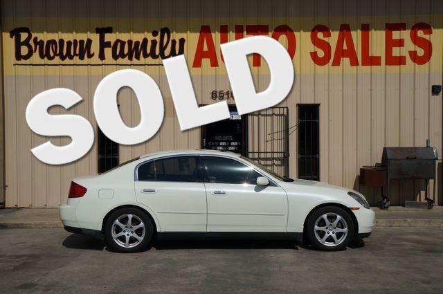 2004 Infiniti G35 w/Leather   Houston, TX   Brown Family Auto Sales in Houston TX