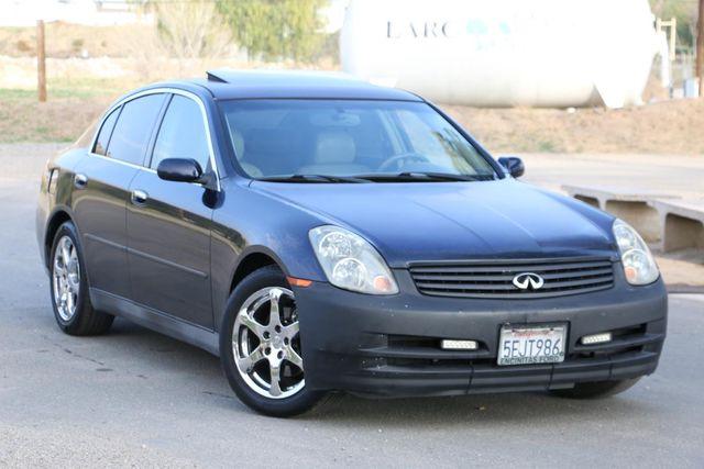 2004 Infiniti G35 w/Leather Santa Clarita, CA 3