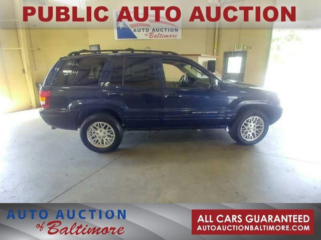 2004 Jeep Grand Cherokee Limited   JOPPA, MD   Auto Auction of Baltimore  in Joppa MD