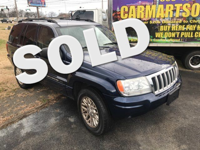 2004 Jeep Grand Cherokee Limited Knoxville, Tennessee
