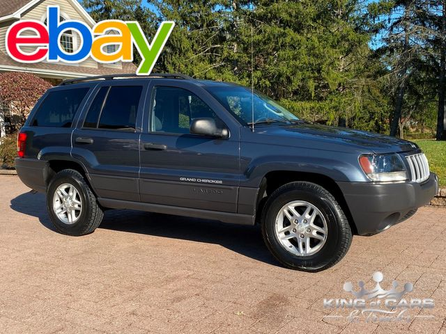 2004 Jeep Grand Cherokee LAREDO LOW MILES 4X4 1-OWNER CLEAN