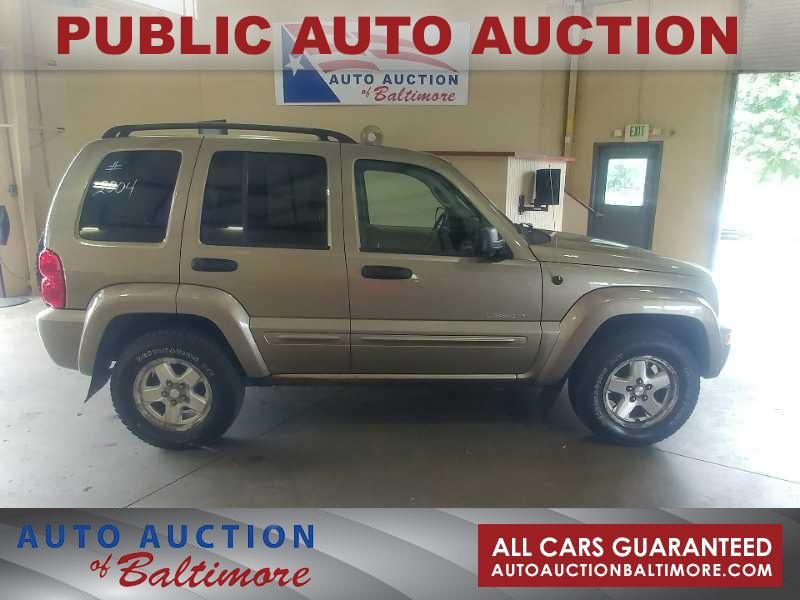 2004 Jeep Liberty Limited   JOPPA, MD   Auto Auction of Baltimore  in JOPPA MD