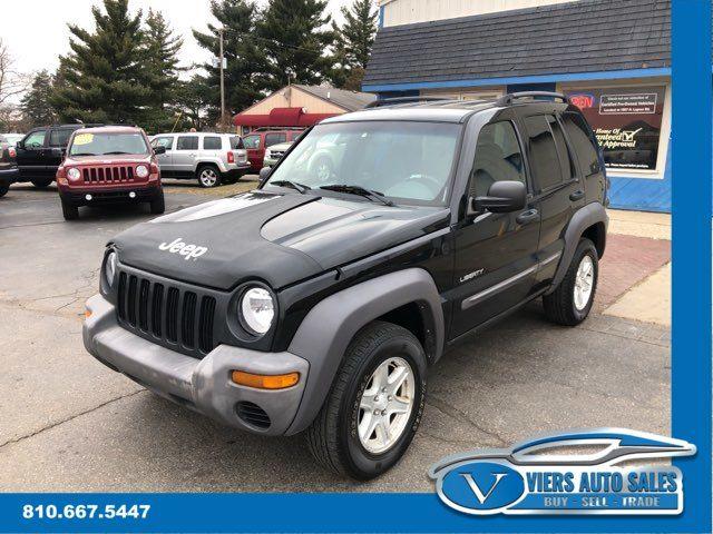 """2004 Jeep Liberty Sport 4WD """"Pre-Auction Wholesale"""""""