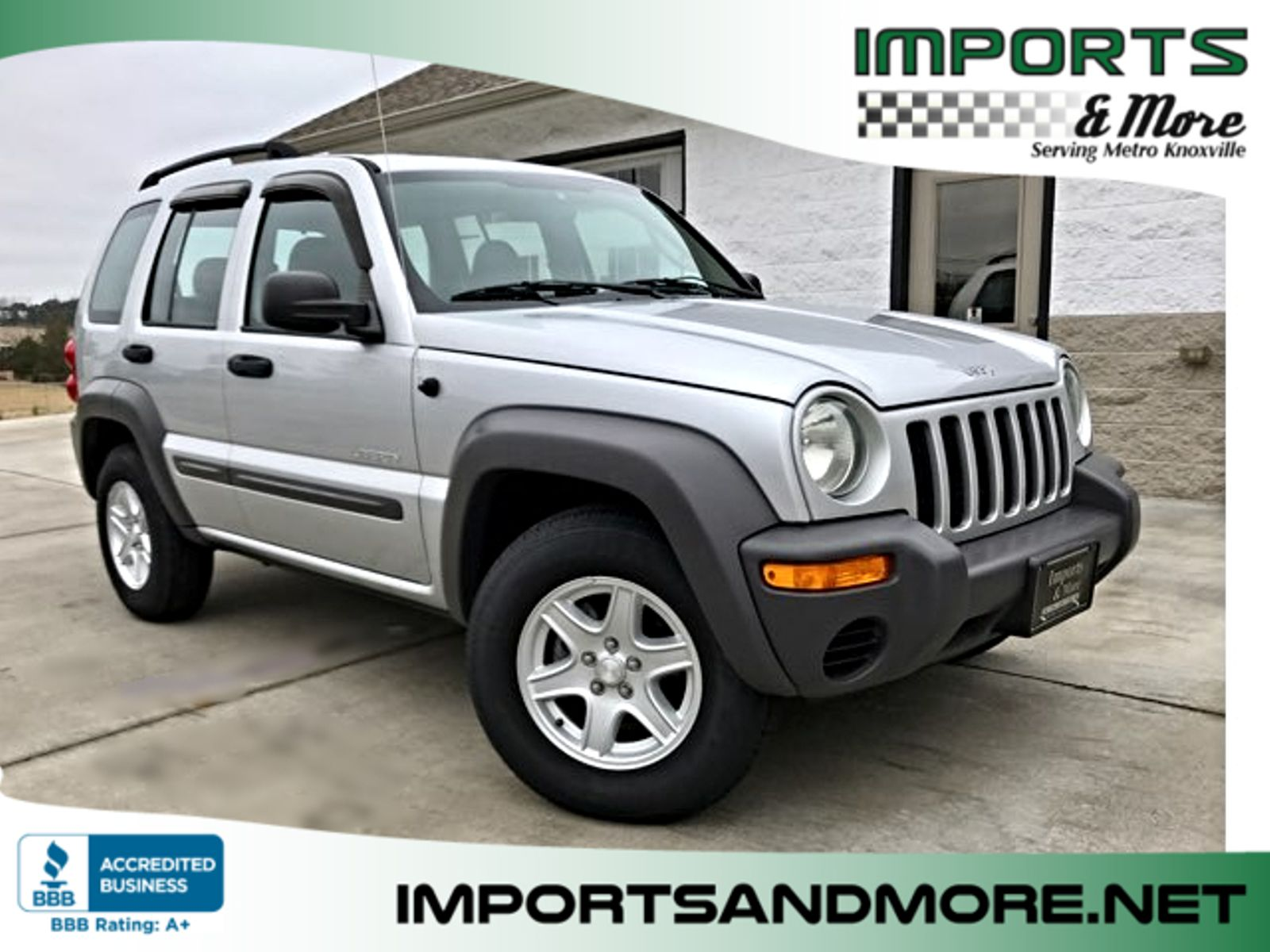 2004 Used Jeep Liberty 4dr Sport At Car Guys Serving Houston Tx