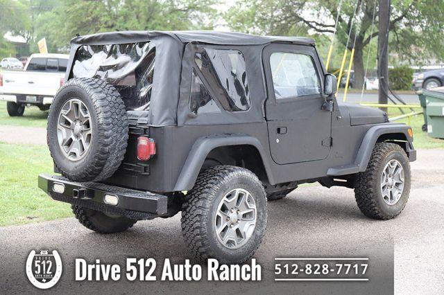 2004 Jeep Wrangler SE in Austin, TX 78745