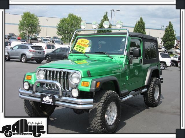 2004 Jeep Wrangler Unlimited 4WD