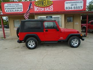 2004 Jeep Wrangler Unlimited | Fort Worth, TX | Cornelius Motor Sales in Fort Worth TX