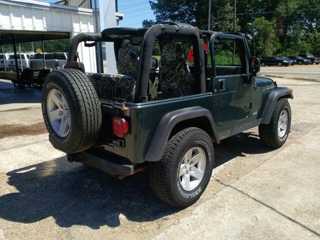 2004 Jeep Wrangler Rubicon Houston, Mississippi 5