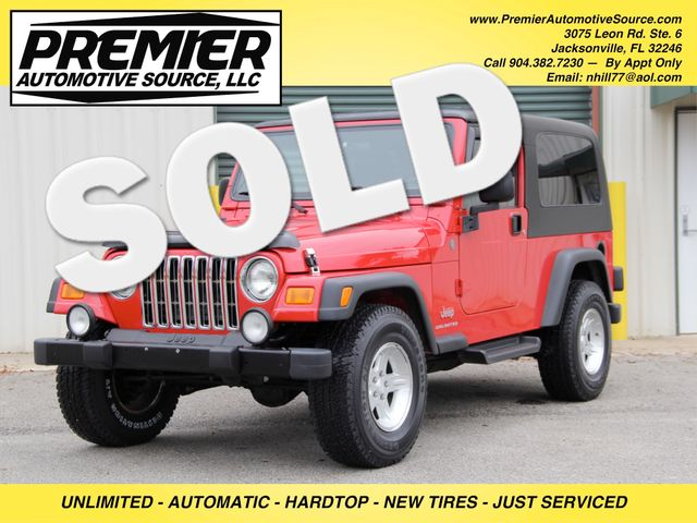 2004 Jeep Wrangler Unlimited Jacksonville , FL 0