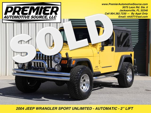 2004 Jeep Wrangler Unlimited LJ Jacksonville , FL 0