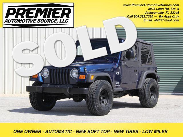 2004 Jeep Wrangler X Jacksonville , FL 0