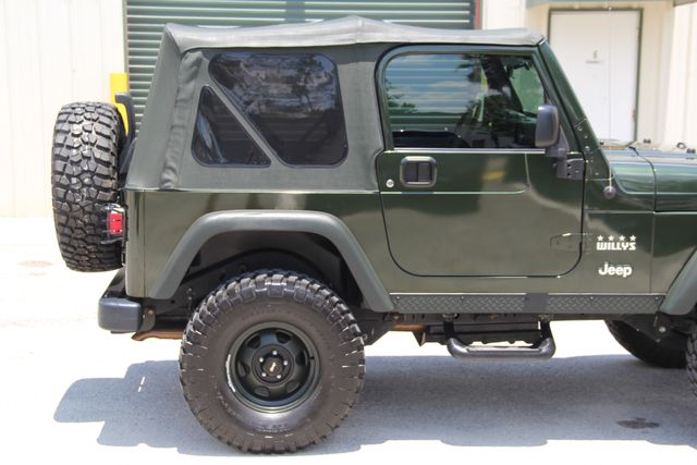 2004 Jeep Wrangler X WILLYS EDITION Jacksonville , FL 30