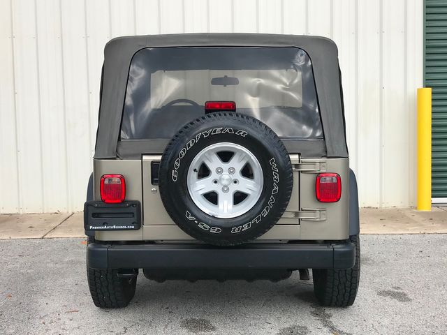 2004 Jeep Wrangler Sport in Jacksonville , FL 32246