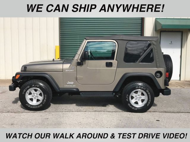2004 Jeep Wrangler Sport Clean, stock, low mileage TJ