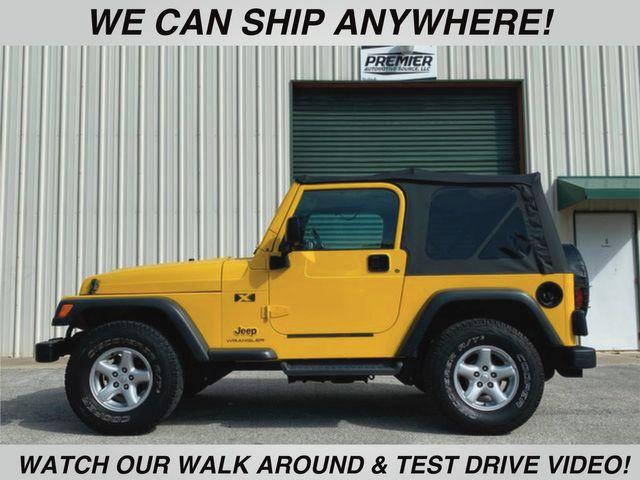 2004 Jeep Wrangler X 5 Speed manual