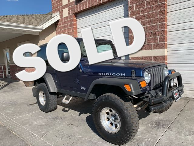 2004 Jeep Wrangler Rubicon LINDON, UT