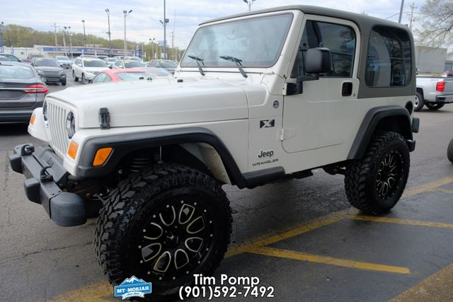 2004 Jeep Wrangler X HARD TOP & SOFT TOP in Memphis, Tennessee 38115