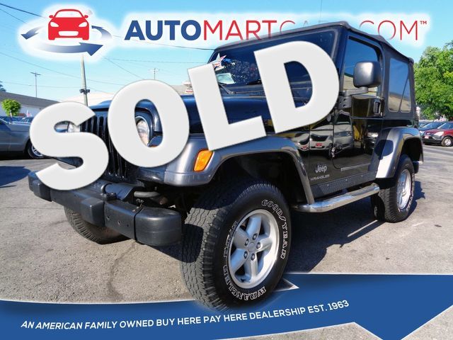 2004 Jeep Wrangler X | Nashville, Tennessee | Auto Mart Used Cars Inc. in Nashville Tennessee