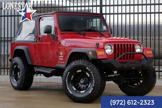 2004 Jeep Wrangler Unlimited Fox Shocks Suspension Lift in Plano, Texas 75093