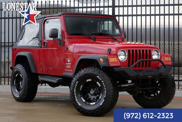 2004 Jeep Wrangler Unlimited Fox Shocks Suspension Lift