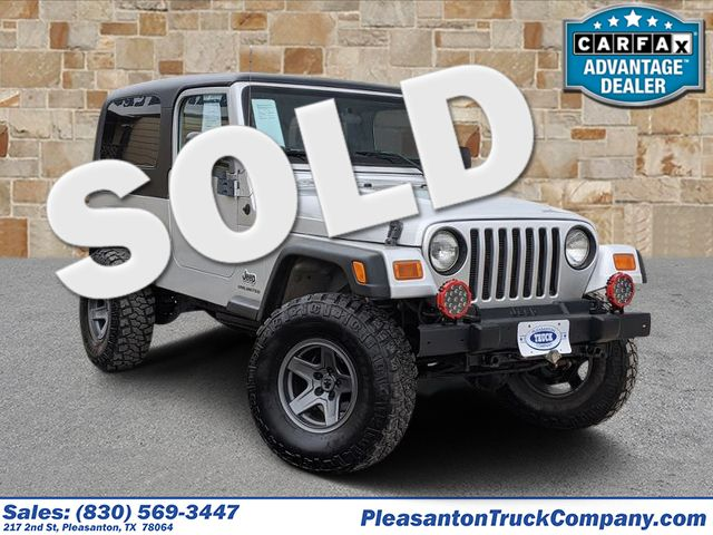 2004 Jeep Wrangler Unlimited | Pleasanton, TX | Pleasanton Truck Company in Pleasanton TX