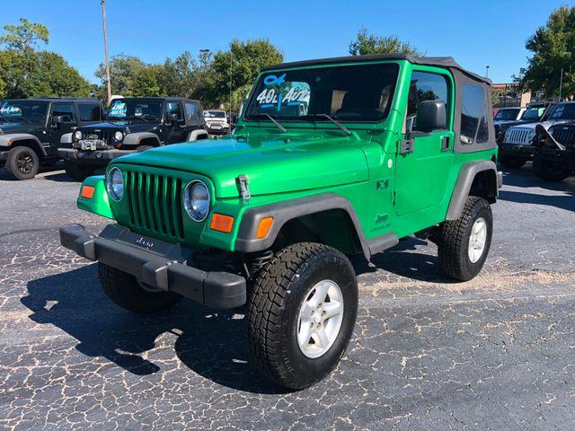 2004 Jeep Wrangler X Riverview, Florida 1