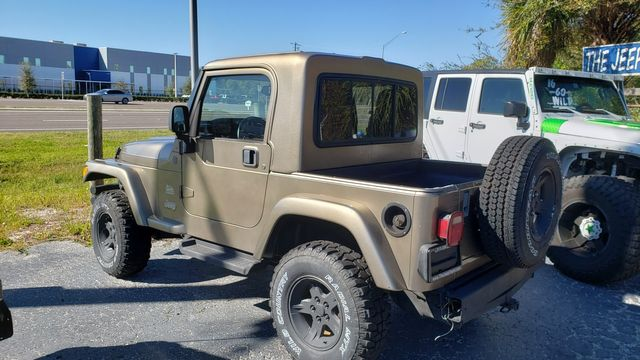 2004 Jeep Wrangler Sahara-Truck conv in Riverview, FL 33578