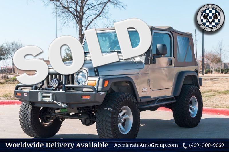 2004 Jeep Wrangler X in Rowlett Texas