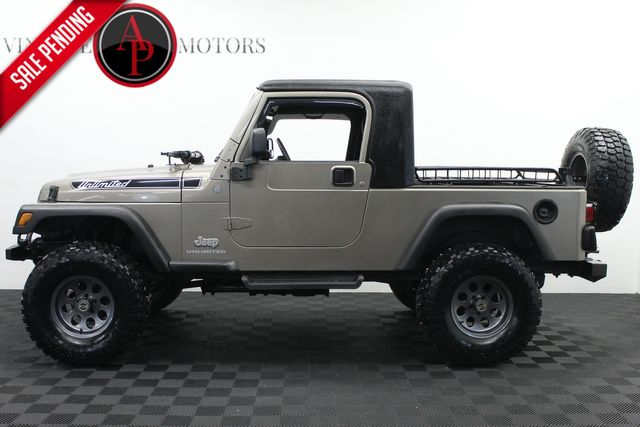 2004 Jeep Wrangler Unlimited Custom Build