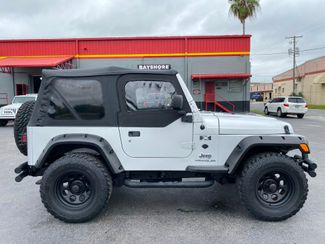 2004 Jeep Wrangler X MANUAL SOFTOP 4X4 40L 6CYL HALF DOORS   Florida  Bayshore Automotive   in , Florida