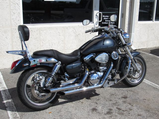 2004 Kawasaki Vulcan 1600 Mean Streak Dania Beach Florida Top