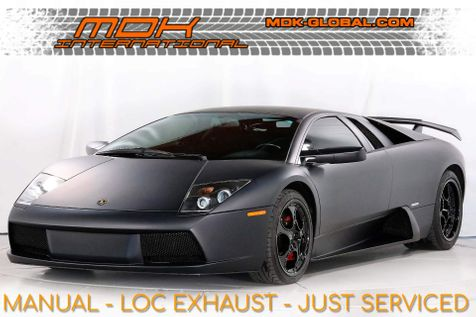 2004 Lamborghini Murcielago - 6 SPEED MANUAL - CELEBRITY OWNED - FLAT BLACK in Los Angeles