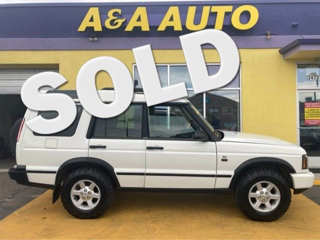 2004 Land Rover Discovery SE in Englewood, CO 80110