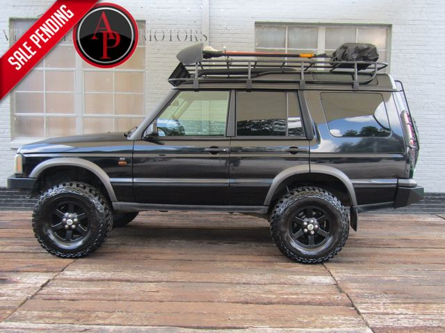 2004 Land Rover Discovery SE OFF ROAD READY CUSTOM RACK AND BUMPERS