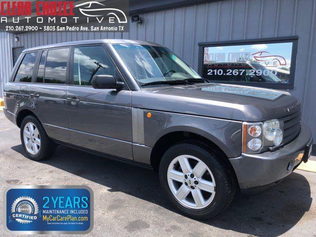 2004 Land Rover Range Rover HSE in San Antonio, TX 78212