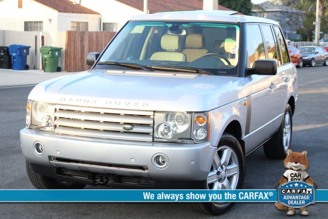 2004 Land Rover RANGE ROVER HSE NAVIGATION SERVICE RECORDS